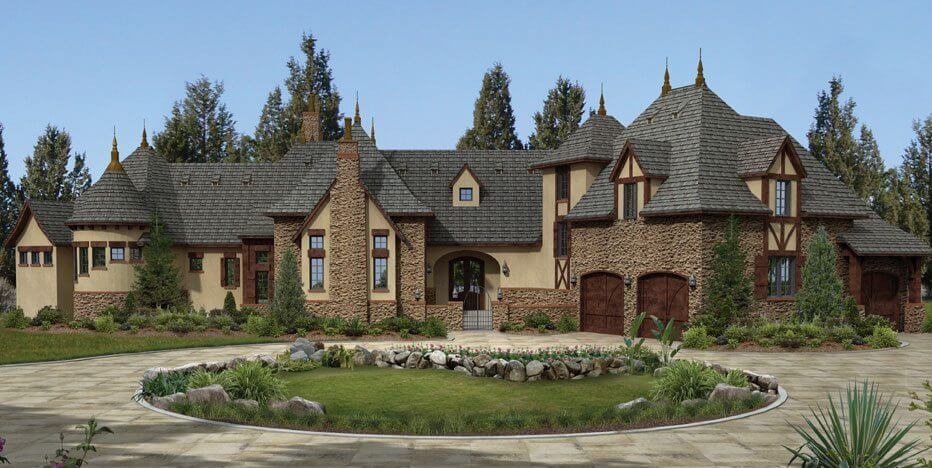 Euro world design we design homes with the character Old world house plans courtyard