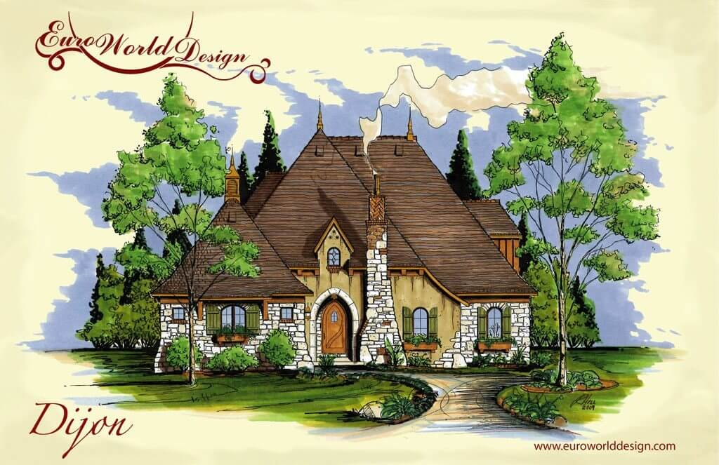 Storybook house plans storybook cottage style house plans for Story book house plans